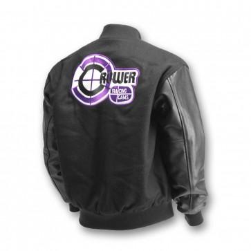 Nostalgia Jacket Black Wool & Black Leather