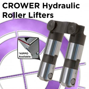 Hydraulic Roller Lifters Chevy 262-400 Fits Early & Late Model with High Pressure Pin Oiling (Pair)