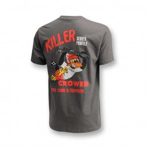 T-Shirt Gray with Nostalgia Crow Logo