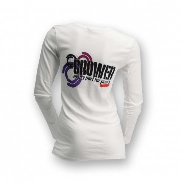 T-Shirt Women's Long Sleeve White