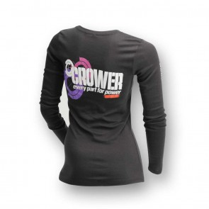 T-Shirt Women's Long Sleeve Black