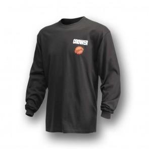 T-Shirt Long Sleeve Hardcore Black