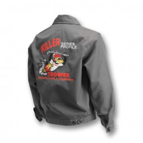 Jacket,  W/Crower Killer Nostalgia Logo (Gray)Insulated