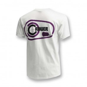 White Vintage Crower Cam Logo T-Shirt