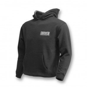Pullover Hoody Black W/ Crower Logo (Youth)