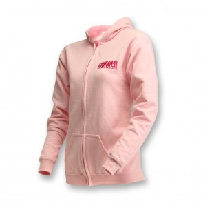 Pink Zipper Front Hoody w/ Classic Crower Logo( Youth & Toddler)