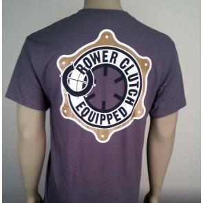 T-Shirt Crower Clutch– Dark Gray