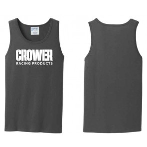 Men's Tank Top, gray with white Crower logo